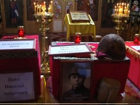 The Russian searchers gave to Ukraine the remains of two soldiers