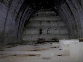 Nuclear mazes. In Austria, discovered an underground weapons factory of the Third Reich