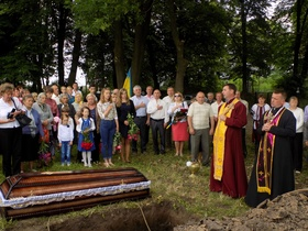 In Lvov region there was a reburial of the Red Army's soldiers