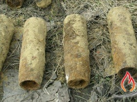 In Sumy region students found the shells of World War II